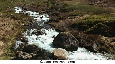 Stream in Aurland, Norway - 4K, Nature Of Norway,...
