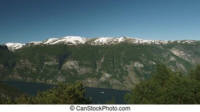 Scenic Viewpoint at Stegasten, - 4K, Nature Of Norway,...