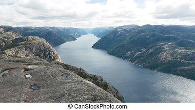 Epic Preikestolen pan, Norway - 4K, Nature Of Norway,...