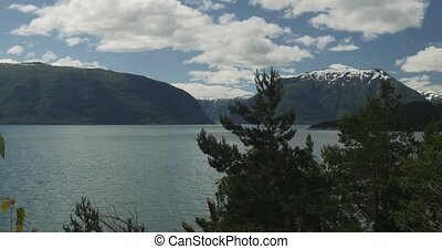 View on Sognefjord, Norway - 4K, Nature Of Norway,...
