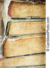 vintage books - stack of vintage books