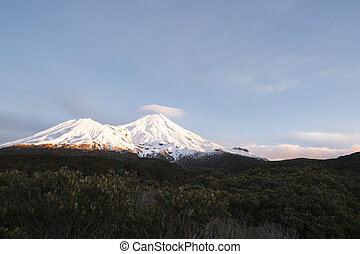 Mount Egmont - Mount Egmont at sunrise