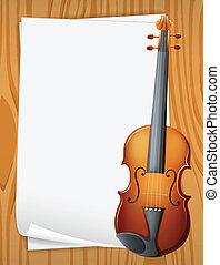 Violin banner