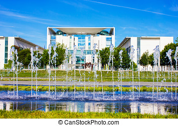 German Chancellery - Office of the German Chancellor in...