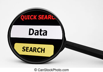 Search for data