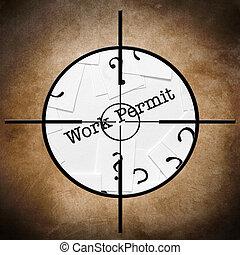 Work permit target