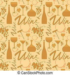 white wine pattern