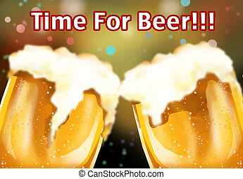 time for beer!