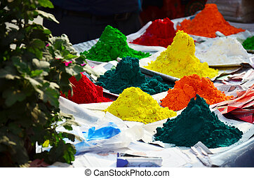 Tika Color powder for Tihar Deepawali festival and Holi...