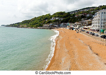 Ventnor beach Isle of Wight uk - Ventnor Isle of Wight uk...