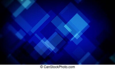 moving blue squares loopable backgr