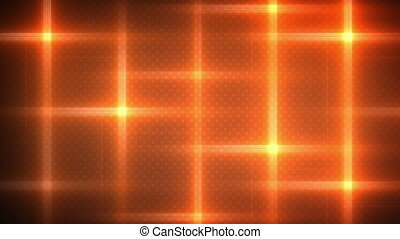 orange flashing lights loop background
