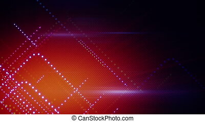 abstract cyber lines loopable background - cyber lines...