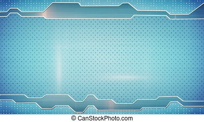 blue techno plate loopable background - blue techno plate....