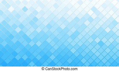 white blue rhomb mosaic tile loopable background