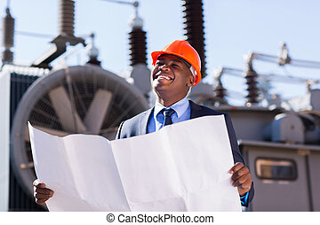 african american industrial manager
