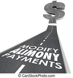 Modify Alimony Payments Road Financial Obligation Spousal...