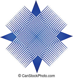 Abstrat blue graphic app logo - Abstrat blue graphic...