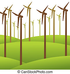 wind mill renewable energy concept - wind mill renewable...