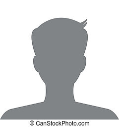 Male avatar profile picture use for social website Vector