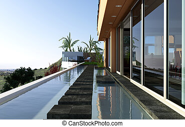 Luxury Mansion - Luxury mansion with beautiful view over the...