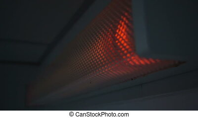 blinking broken fluorescent lamp sequence - blinking broken...