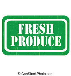 Fresh Produce-stamp