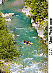 rafting, Verdon Gorge, Provence, France