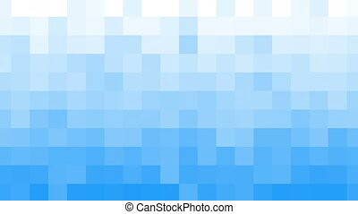 white blue mosaic tile loopable background - white blue...
