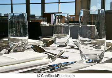 Restaurant Table Setting #2