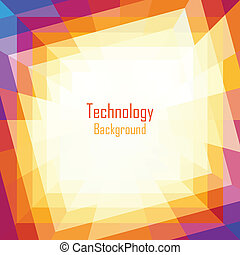 Abstract Coloful Technology Background.