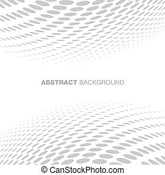 Abstract Halftone Gray Technology Background, vector...