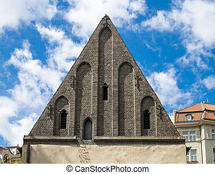 Old New Synagogue in Prague, Czech Republic