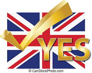 VOTE UK - YES VOTE UNITED KINGDOM