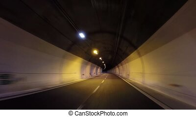 large tunnel