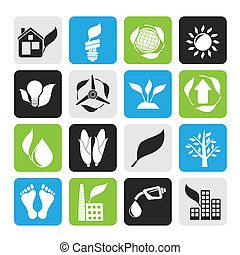 environment and nature icons