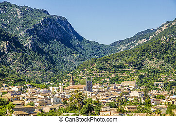 Soller in Mallorca - Soller, a town and municipality near...