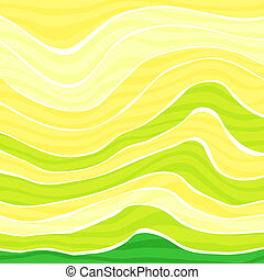Colorful striped wave background - Abstract colorful striped...