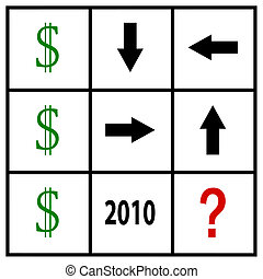 tic tac money - dollar speculation in tic tac toe grid