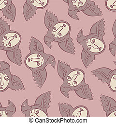 vector seamless Perm animal 2 - vector seamless pattern...