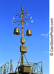 Antenna direction finder with a device identification in a...