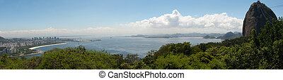 Rio de Janeiro, Brazil - March 28, 2014: Panoramic from...