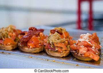 crostini bruschetta.