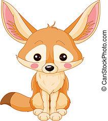 Fennec - Illustration of cute Fox Fennec