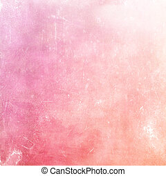 Distressed pink pastel background