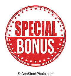 Special bonus stamp