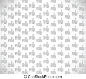 grey like hand background image illustration design