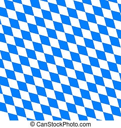 bavarian background - illustration of a bavarian background