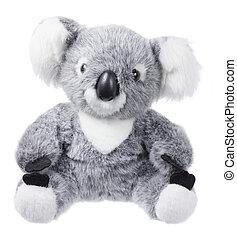 juguete, suave,  Koala