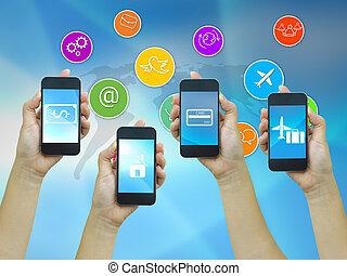 Technology communication.